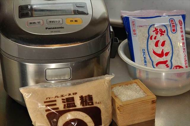 甘酒の作り方